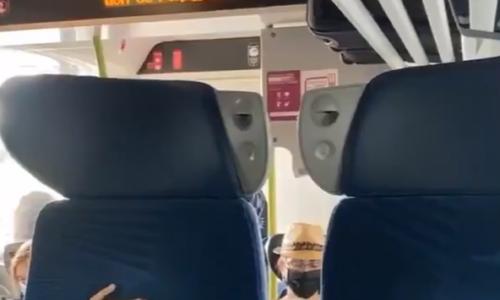 """🇫🇷 Effusion de haine raciale dans un train: """"Je vais te tuer sale blanc, sale Français, sale race inférieure…"""" (vidéo)"""